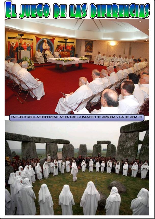 Encuentre las diferencias entre ambas imágenes